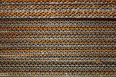 Texture  stacked of industrial cardboard Stock Photos
