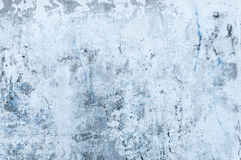 Texture of stained gray concrete with peeled whitewash Royalty Free Stock Images