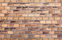 Texture of stained old brick wall Royalty Free Stock Photos