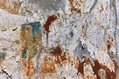 Rusty scratchy texture Royalty Free Stock Photos