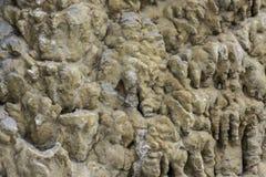 Texture of stalactites. Stock Photos