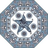Graphic illustration with ceramic tiles 28 Royalty Free Stock Photo