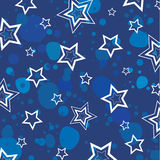 Texture with stars.Vector. Royalty Free Stock Image