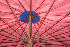 Texture of steel of umbrella royalty free stock photography