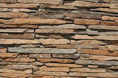 Texture of stone. Texture of many old stones Stock Photography