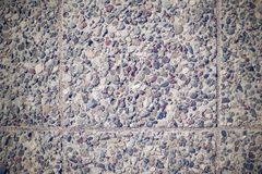 Texture of a stone floor for abstract backgrounds Royalty Free Stock Image