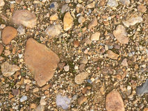 Texture of a stone floor Royalty Free Stock Photography