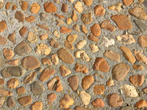 Texture of a stone floor Royalty Free Stock Photos
