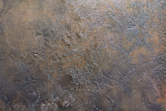 Texture of the stone with gray and copper colors with interspersed Stock Photography