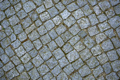 Texture. Stone path in the park Royalty Free Stock Photos