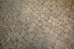 Texture of stone paths Stock Photo