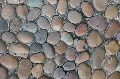 Texture of Stone Path. Texture of stone pathway for abstract bakground used Royalty Free Stock Images