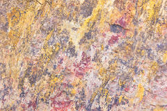 Texture of stone is pattern colors mixed Royalty Free Stock Images