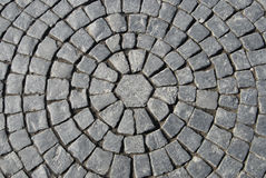 Texture of Stone Pavement Stock Image
