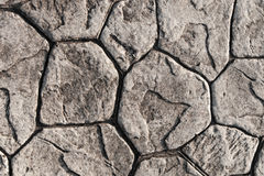 Texture of stone paving Stock Image