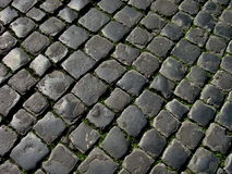 Texture of the stone road Royalty Free Stock Photography
