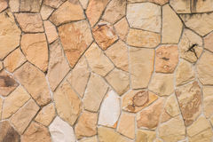 Texture of stone rock artificial wall Stock Photography