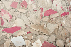 Texture of stone rubble. Royalty Free Stock Image