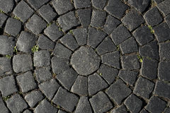 The texture of the stone. The texture of the stonework on the square Royalty Free Stock Photo