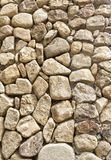 Texture of the stone wall Stock Image