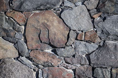 Texture of stone wall. Stock Photos