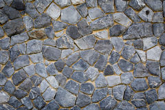 Texture of the stone wall Royalty Free Stock Photography