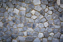 Texture of the stone wall Stock Photos