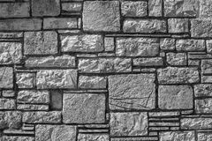 Texture of a stone wall for abstract backgrounds Stock Image