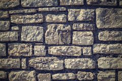 Texture of a stone wall for abstract backgrounds Royalty Free Stock Images