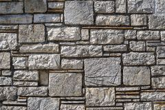 Texture of a stone wall for abstract backgrounds Stock Images