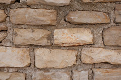 Texture of a stone wall Stock Images