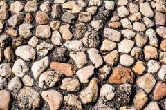 Texture of stone wall. Royalty Free Stock Photos