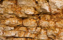 Texture of a stone wall Royalty Free Stock Photography