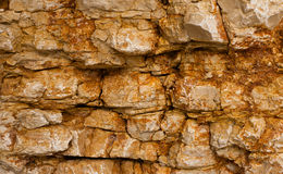 Texture of a stone wall Stock Photography
