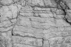 Texture of a stone wall Royalty Free Stock Photo