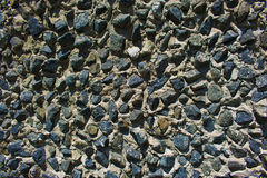 Texture of the stone wall. Stone wall, brick rock texture Stock Image