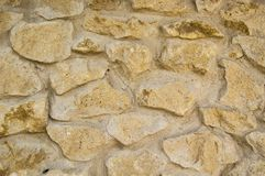 texture of a stone wall in a castle royalty free stock images