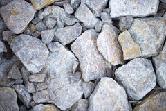 Texture of the stone wall. Texture of the stone, closeup , Top view Royalty Free Stock Images