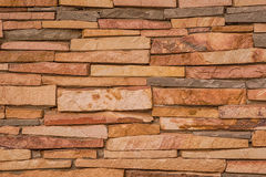 Texture of stone wall decorative surface Stock Photography