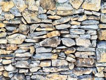 Texture stone wall. Stock Photography