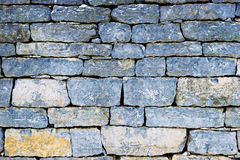 Texture of the stone wall Royalty Free Stock Image