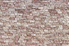 Texture of a stone wall. From a wild stone Stock Photo