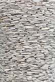 Texture of stone walls Stock Image