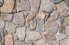 Texture of stone walls granite Royalty Free Stock Image
