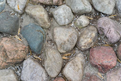 The texture of the stones Royalty Free Stock Image