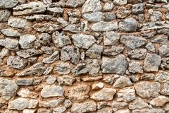 A texture of stones, also suitable as a background Royalty Free Stock Images