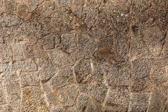 A texture of stones, also suitable as a background Royalty Free Stock Photo