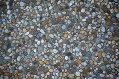 Texture of stones. Background texture with group of small stones Stock Photo