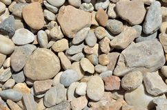 Texture with stones Royalty Free Stock Images