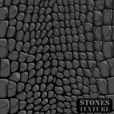 Texture of the stones. The texture of the stones for design. Vector illustration Royalty Free Stock Photo